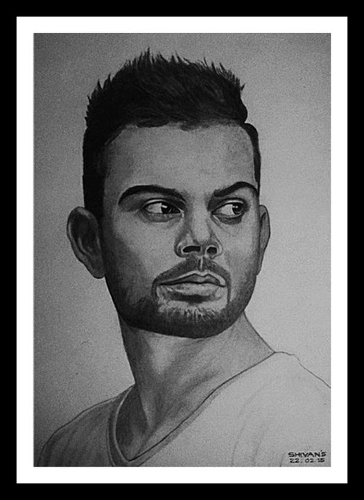 INDIAN CRICKETER VIRAT KOHLI - SHIVAN'S CREATIVE STUDIO