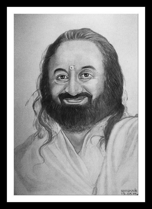 Sri Sri Ravi Shankar - SHIVAN'S CREATIVE STUDIO