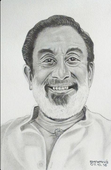 INDIAN ACTOR SHIVAJI GANESHAN - SHIVAN'S CREATIVE STUDIO