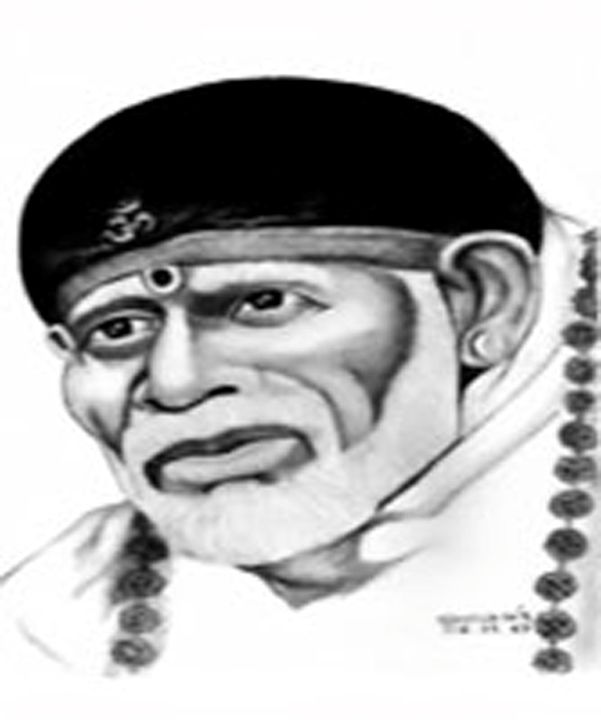 SAI BABA OF SHIRIDI - SHIVAN'S CREATIVE STUDIO