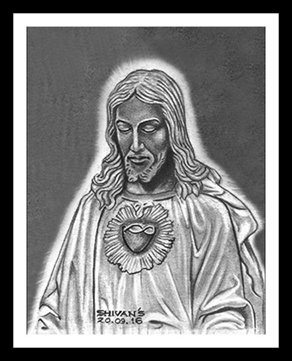 JESUS CHRIST - SHIVAN'S CREATIVE STUDIO