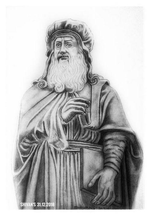 Leonardo da Vinci - SHIVAN'S CREATIVE STUDIO