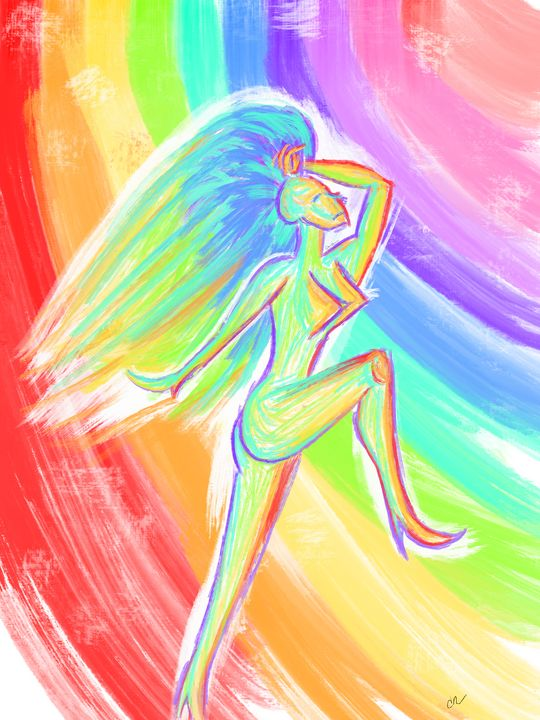 Dancing in the light - Sketchy_guy