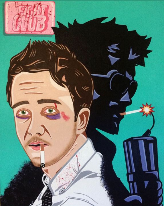 FIGHT CLUB - PAINT THE WORLD