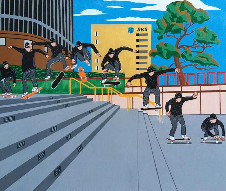 Skate Sequence: Andrew Reynolds - PAINT THE WORLD