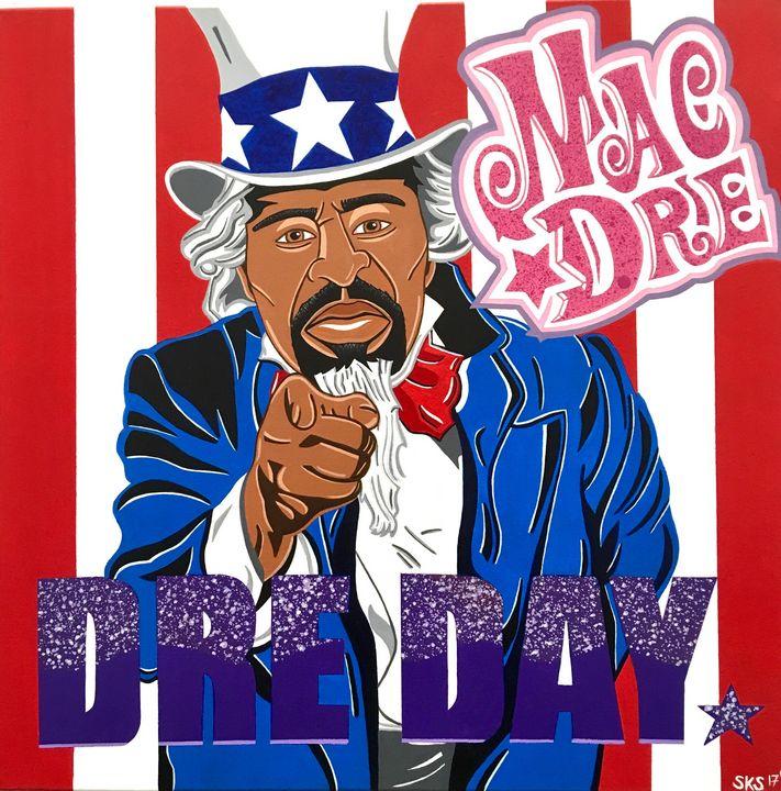 MAC DRE: DRE DAY - PAINT THE WORLD