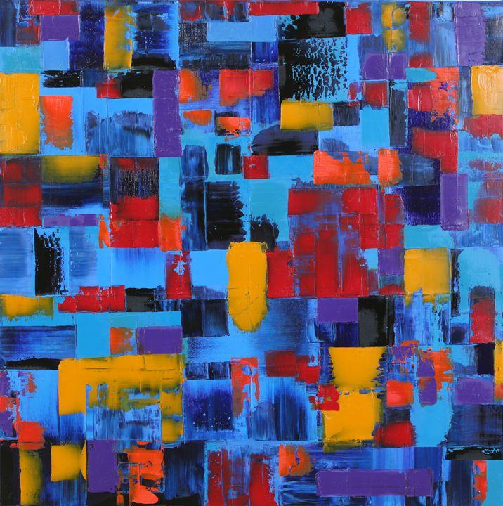 Blue Sunset - Andrew Butler