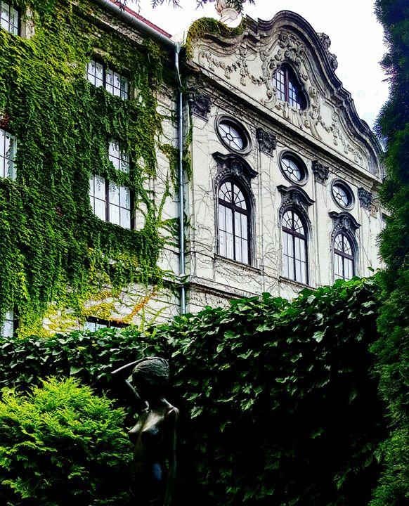 Bartók Museum from the Koller Garden - David J. Bell