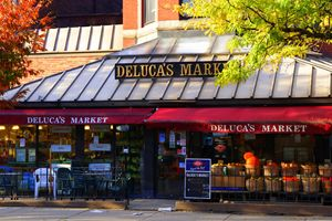 I love Boston.Deluca's market