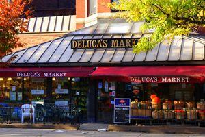 I love Boston.Deluca's market