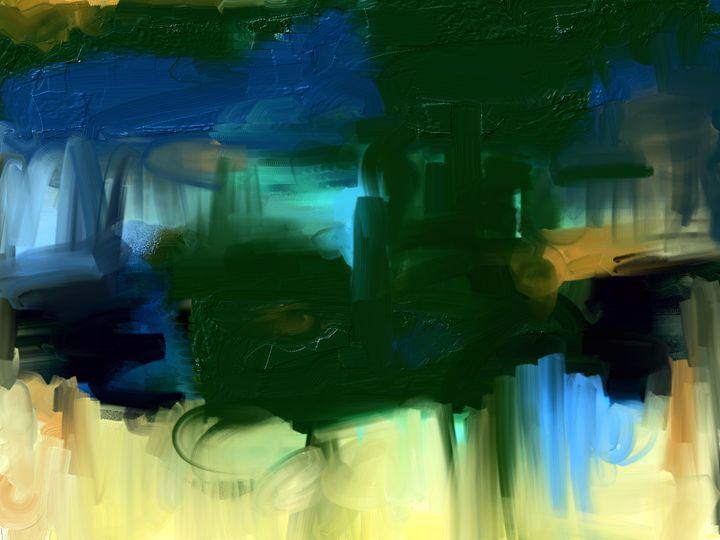 Green Lake - Anivad Art