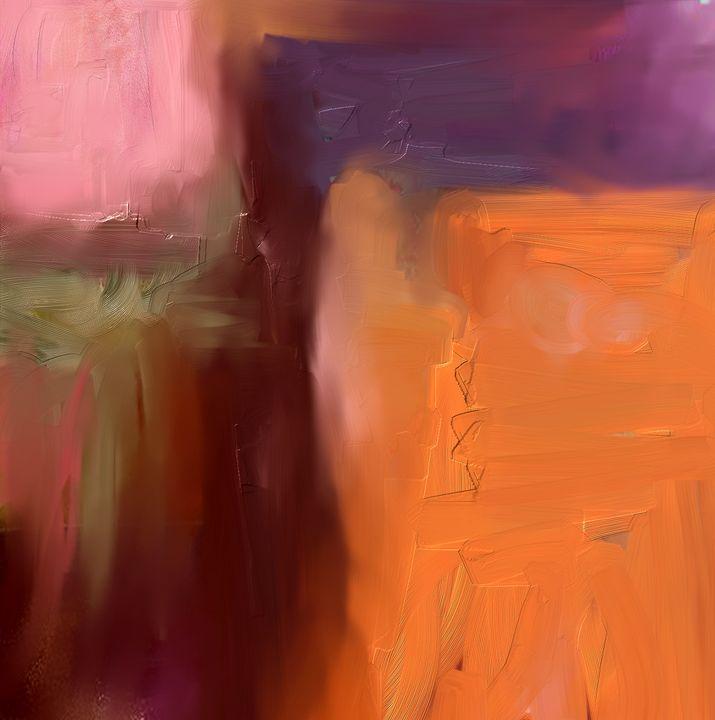 Orange Glow - Anivad Art