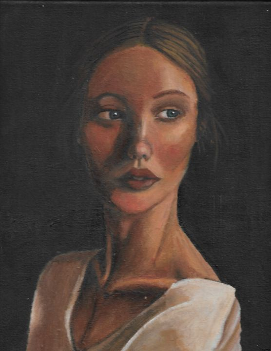 the woman looking to the right - Taymar.M