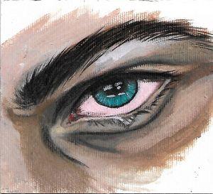 the crying eye