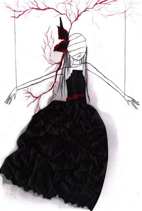 puppet tree girl - Crimson May