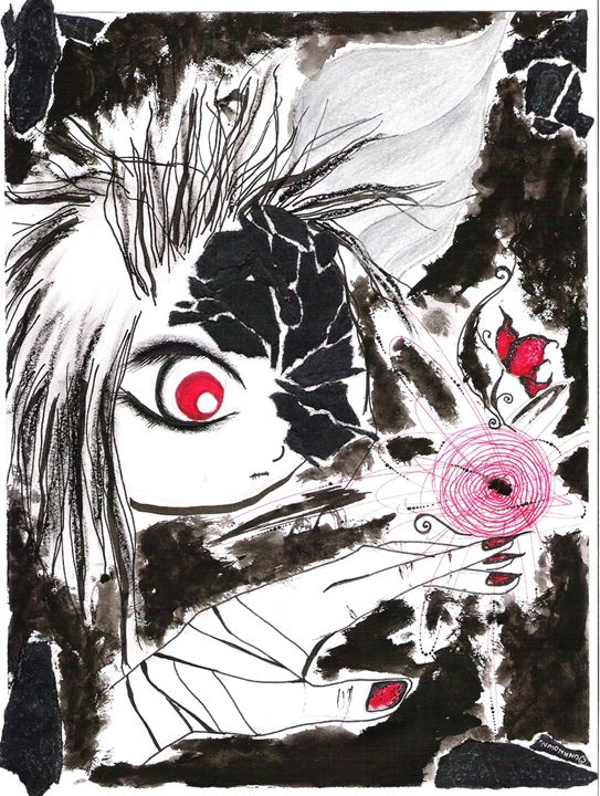 curious eye - Crimson May