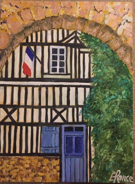 THROUGH THE ARCHWAY HONFLEUR - Elizabeth Ann Rance