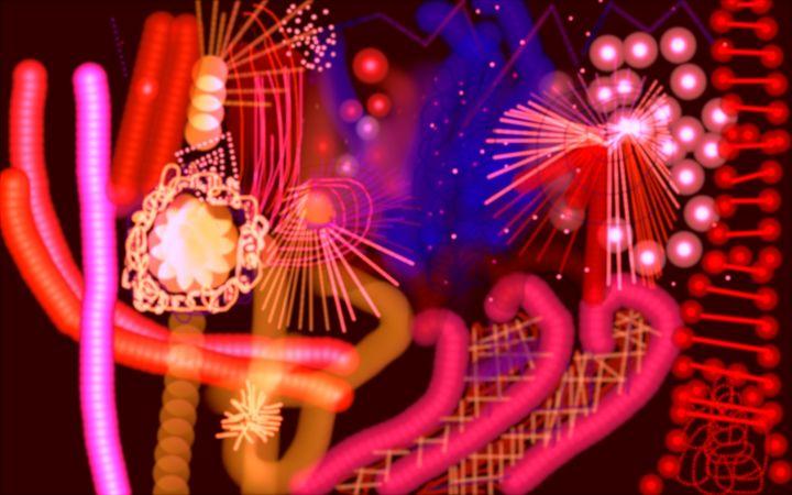 Electric Night - Mickeys Art And Design.Biz