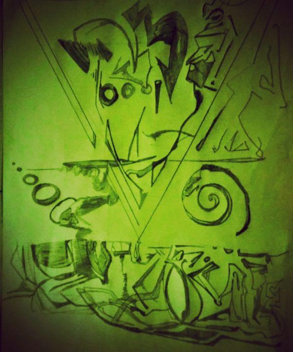 face tribal - Alan Garbellotto