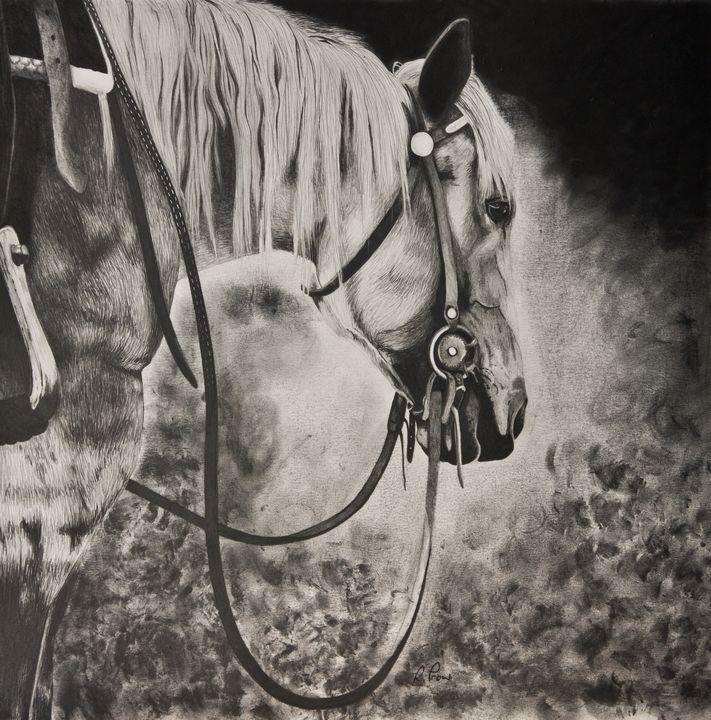 Quiet Contemplation - Fine Art by Rebecca Prow