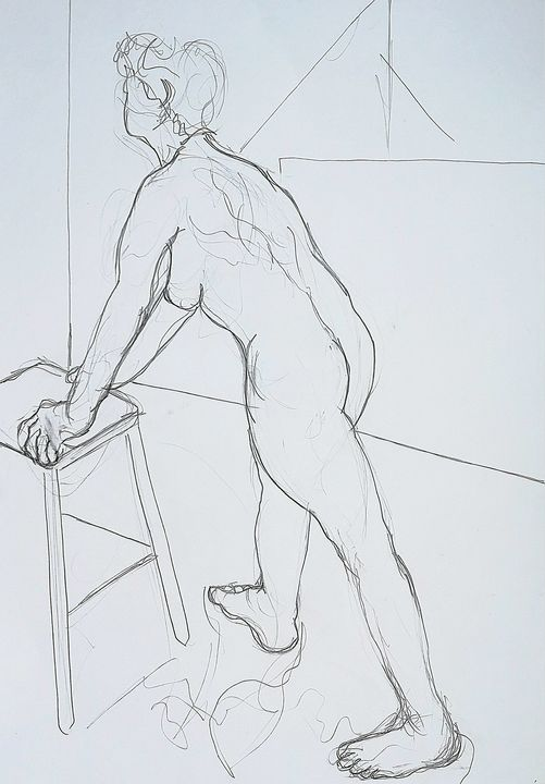 Untitled life drawing - Neil Robinson