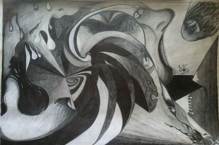Minds Eye - Sterling Loves Art