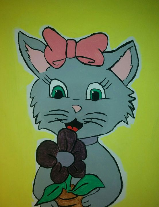 Kitty cat - K.C.
