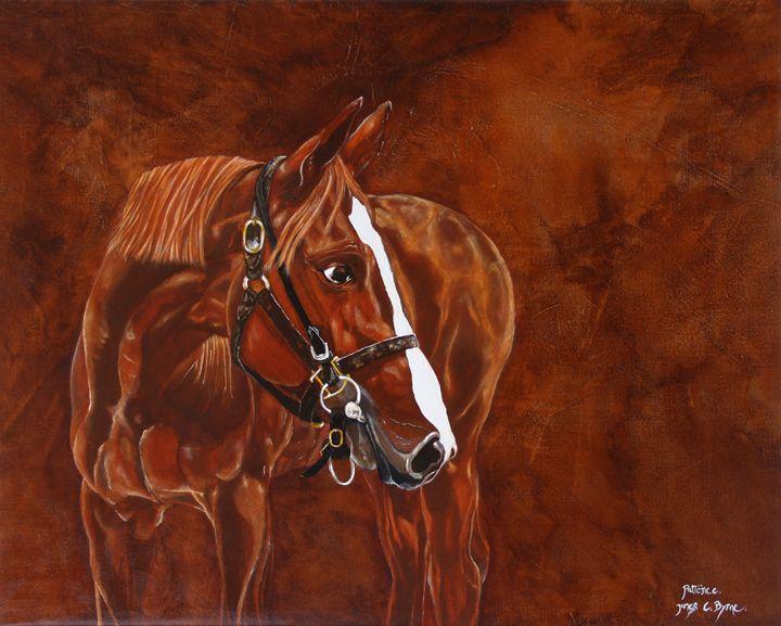 Patience - James C Byrne Equine Art