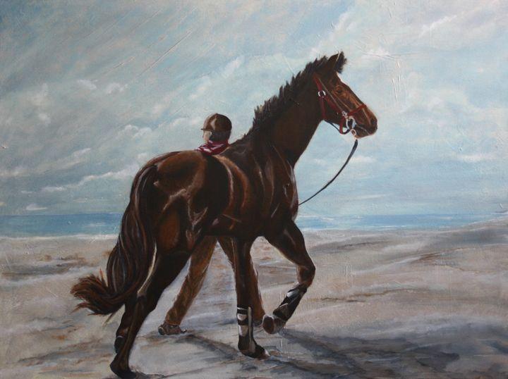 Trust - James C Byrne Equine Art