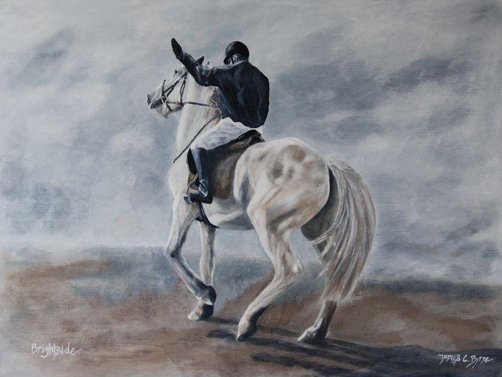 Brightside - James C Byrne Equine Art