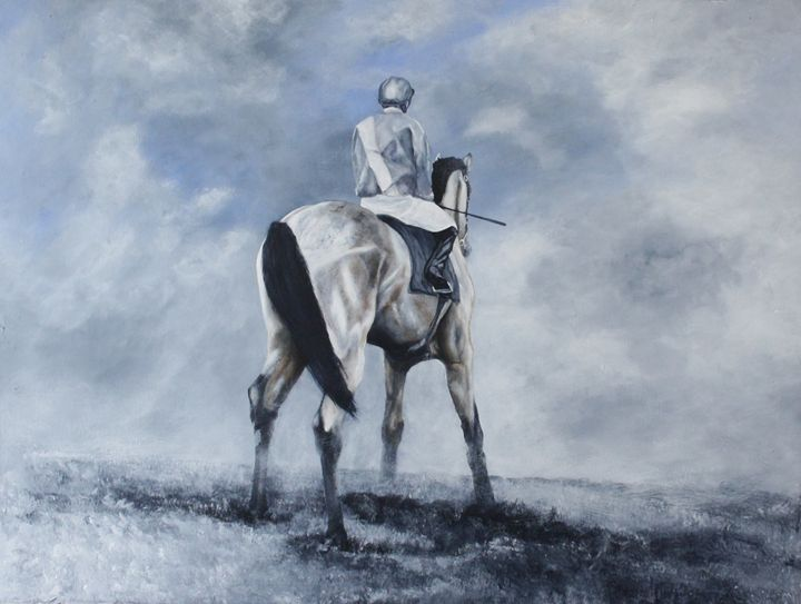 Mindset - James C Byrne Equine Art