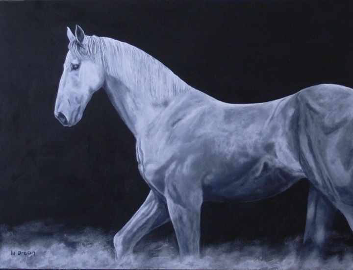 In Dream - James C Byrne Equine Art