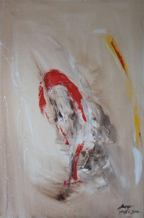 Surge - James C Byrne Equine Art