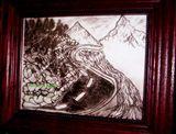 Pencil Art Mountain Like