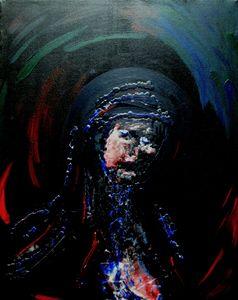 blaue Madonna