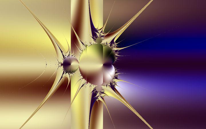 Star - Yellow Cottage Art - Ronni Dewey