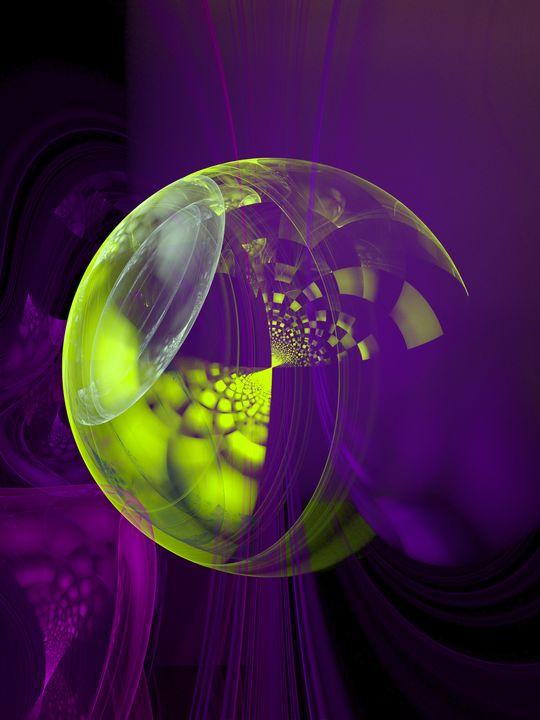 Purple majesty - Yellow Cottage Art - Ronni Dewey