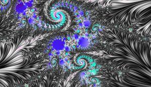 Black & White fractal