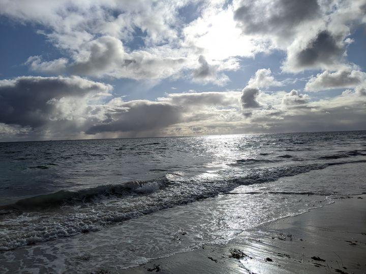 Stormy Beach - VS Martin's Art