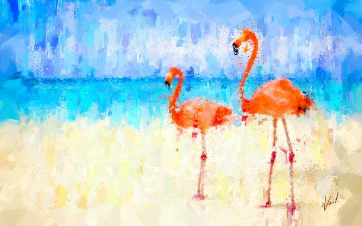 Flamingos - vart