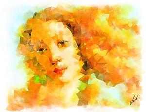 Watercolor Venus