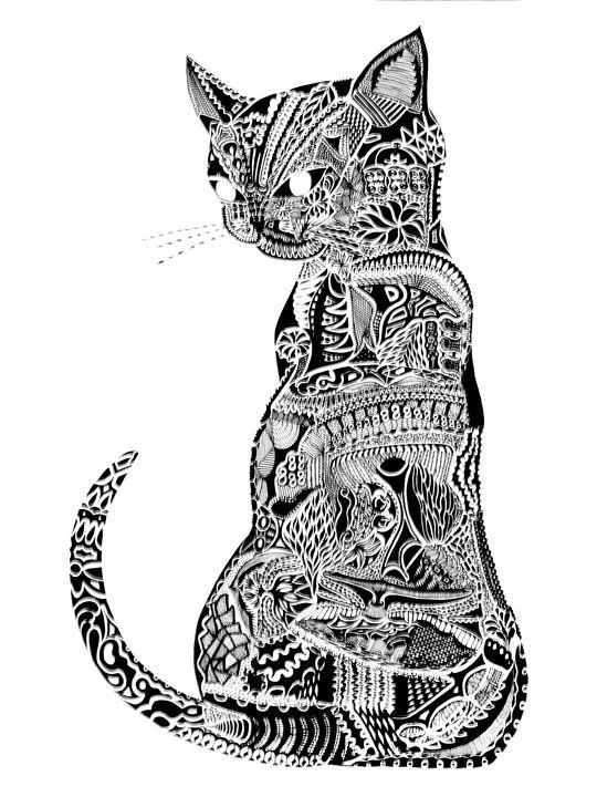 Siamese Cat II - JM Sutton