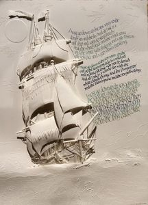 Sea Fever by John Masefield - Dave Wood Calligraphy