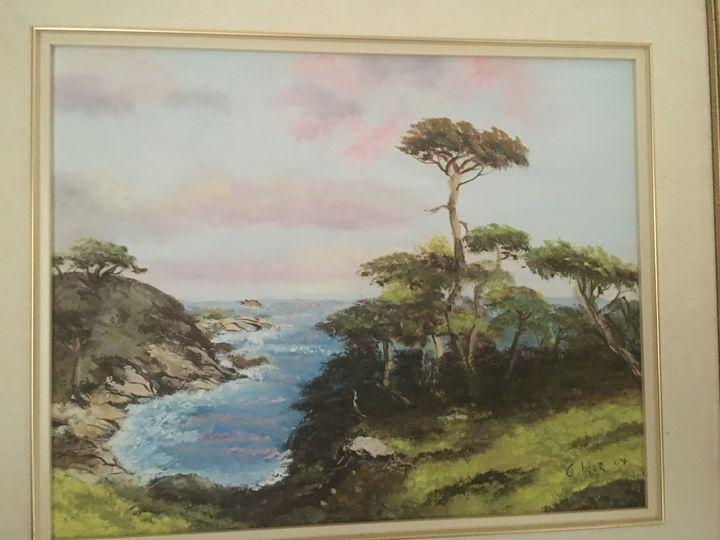 Monterey - Louise Gibler Art