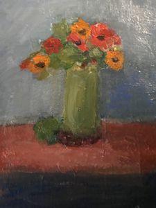 Fresh Flowers - Louise Gibler Art