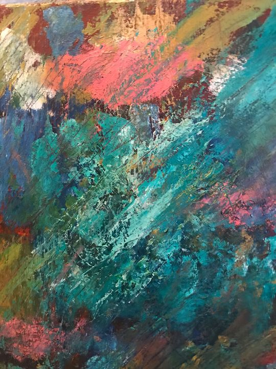 Locomotion With Me - Louise Gibler Art