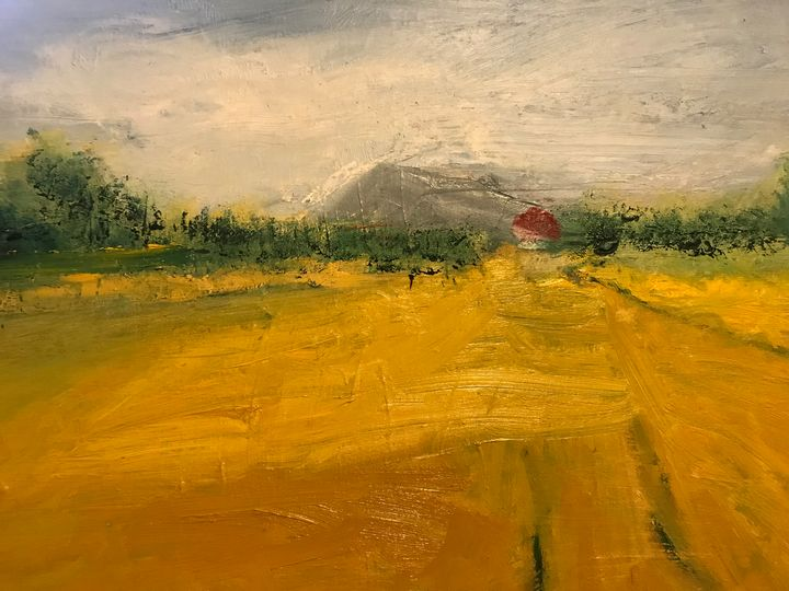Red House - Louise Gibler Art