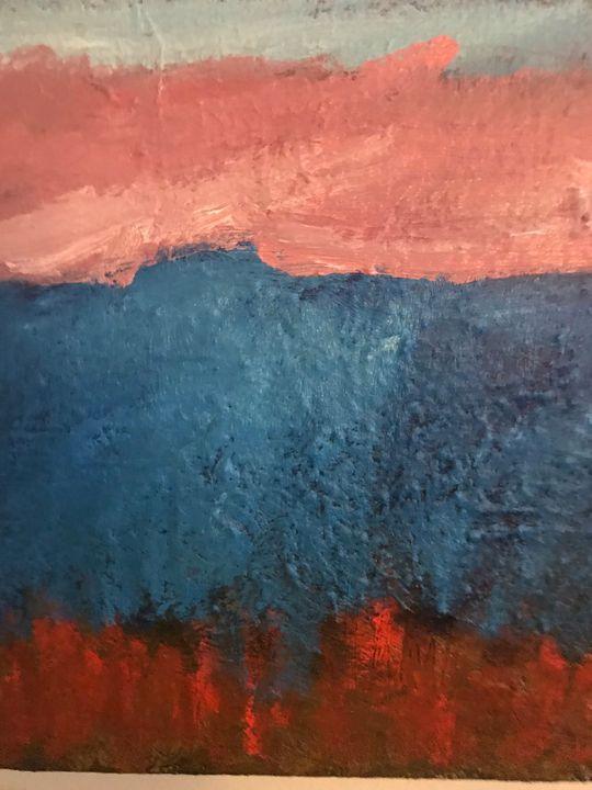 Blue Mountain - Louise Gibler Art