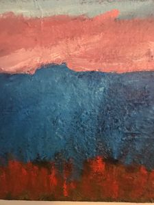 Blue Mountain - Louise Gibler Art