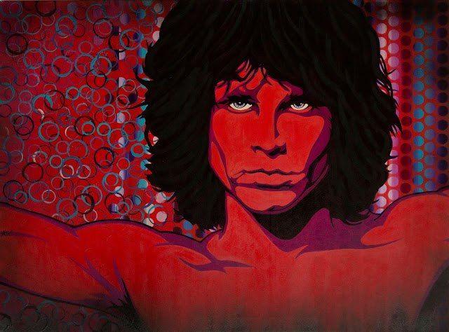 Jim Morrison - StreetPop Art